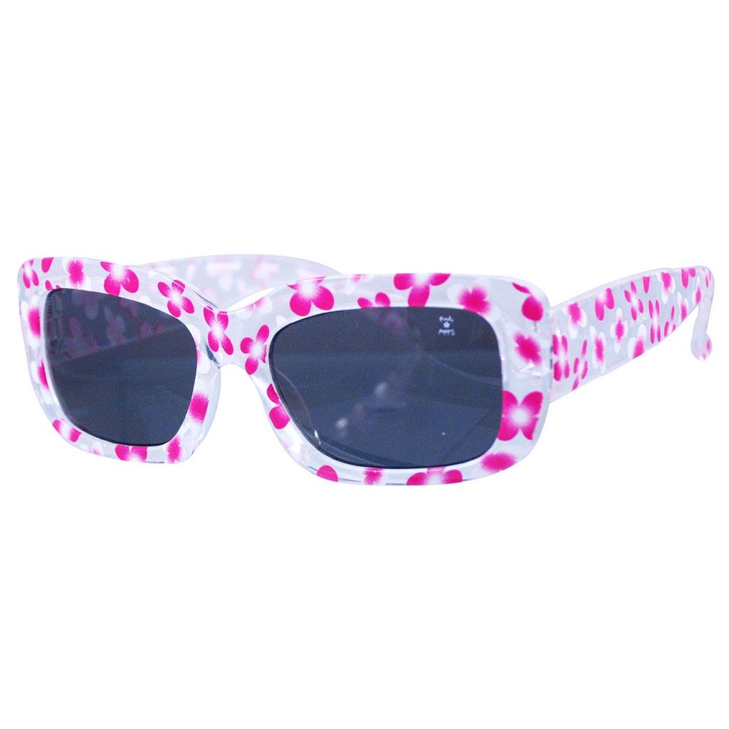 Candy flower print sunglasses