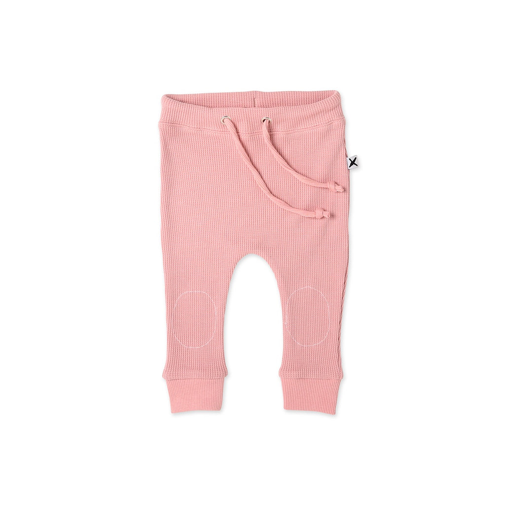 Waffle Pant Muted Pink