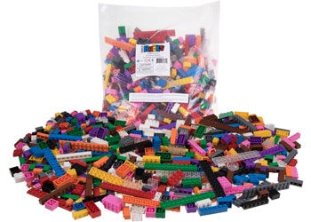 Strictly Briks - 12 Rainbow Colour Blocks - 672 pcs