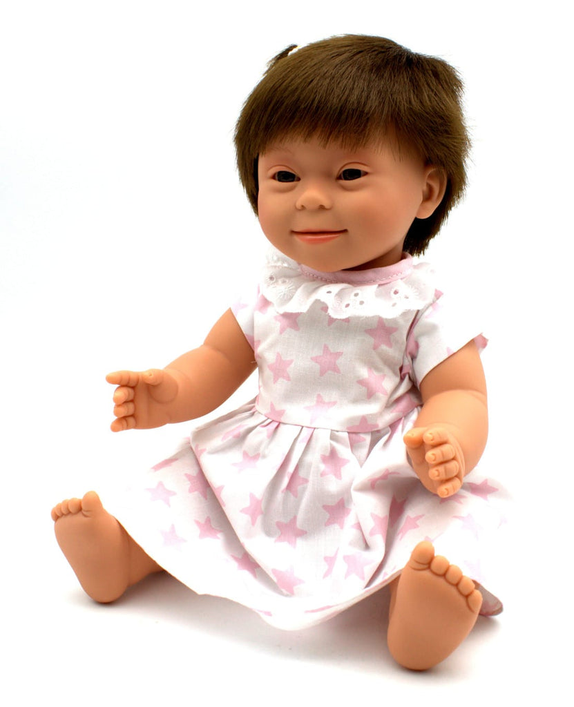 Baby Doll Down Syndrome Brunette