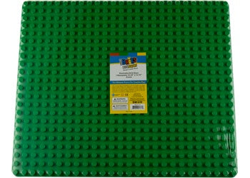 Strictly Briks -Big Briks 16.25x13.75 Baseplate-Green