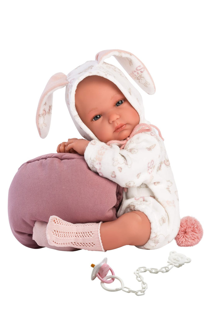 Llorens BIMBA BUNNY WITH CARRY COT