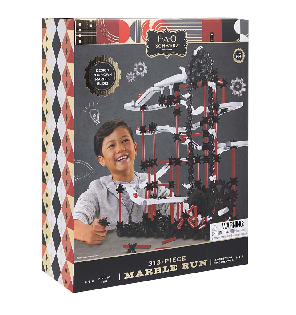 Toy Marble Run 313pc