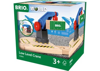 BRIO Crane - Low Level Crane, 2 pieces