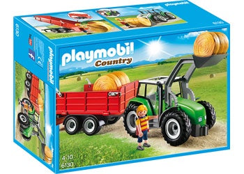 PMB Large Tractor with Trailer 6130