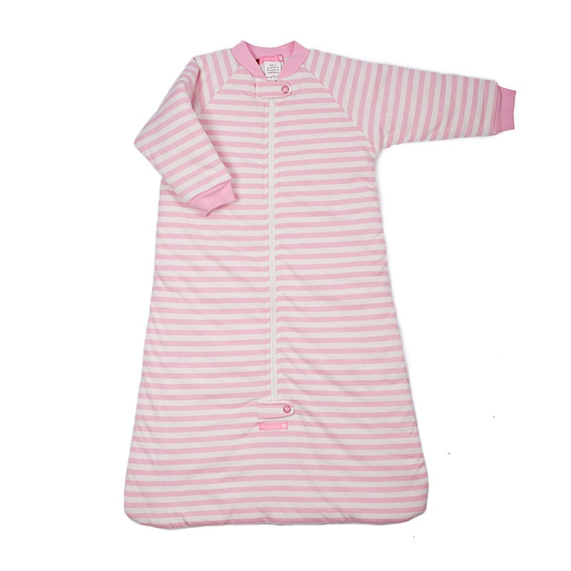 Baby Long Sleeve 3.0 tog Sleeping Bag Pink