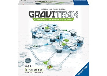 GraviTrax is an innovative marble run and stem toy for boys and girls made with high quality components, designed for ages 8 and up. It comes with 122 pieces and is an ideal holiday or birthday gift for smart, curious kids aged 8 and up.