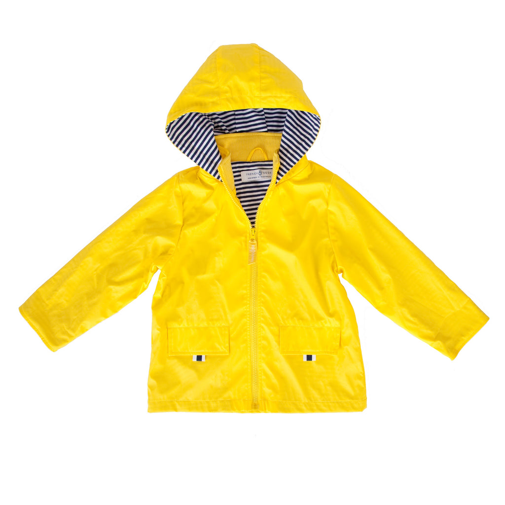 Unisex Raincoat - Yellow