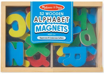 M&D - Alphabet Magnets - 52pc