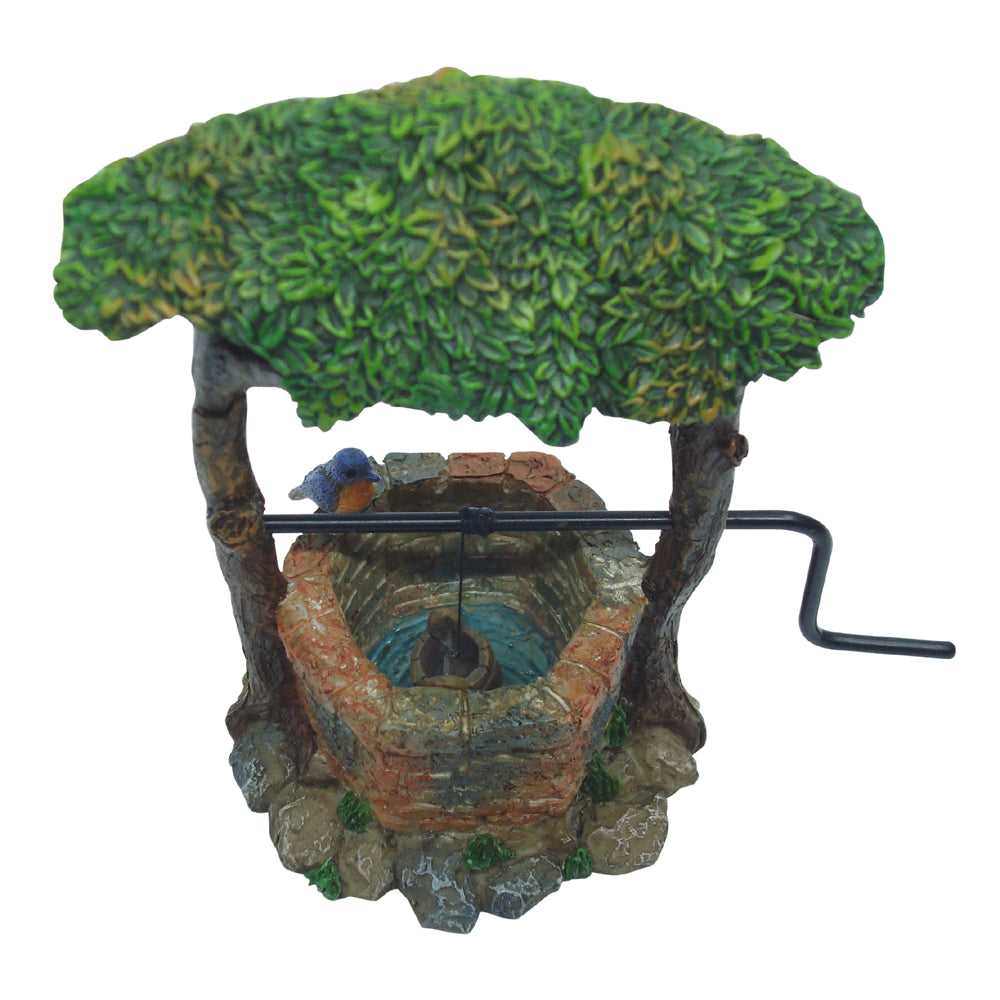 Ivy Wishing Well with Crank Handle