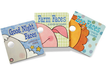 M&D - Fun Faces Mask Book Bundle