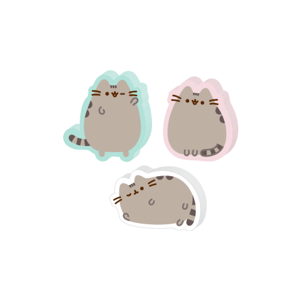 PUSHEEN SWEET DREAMS PENCILS WITH ERASER TOPPERS