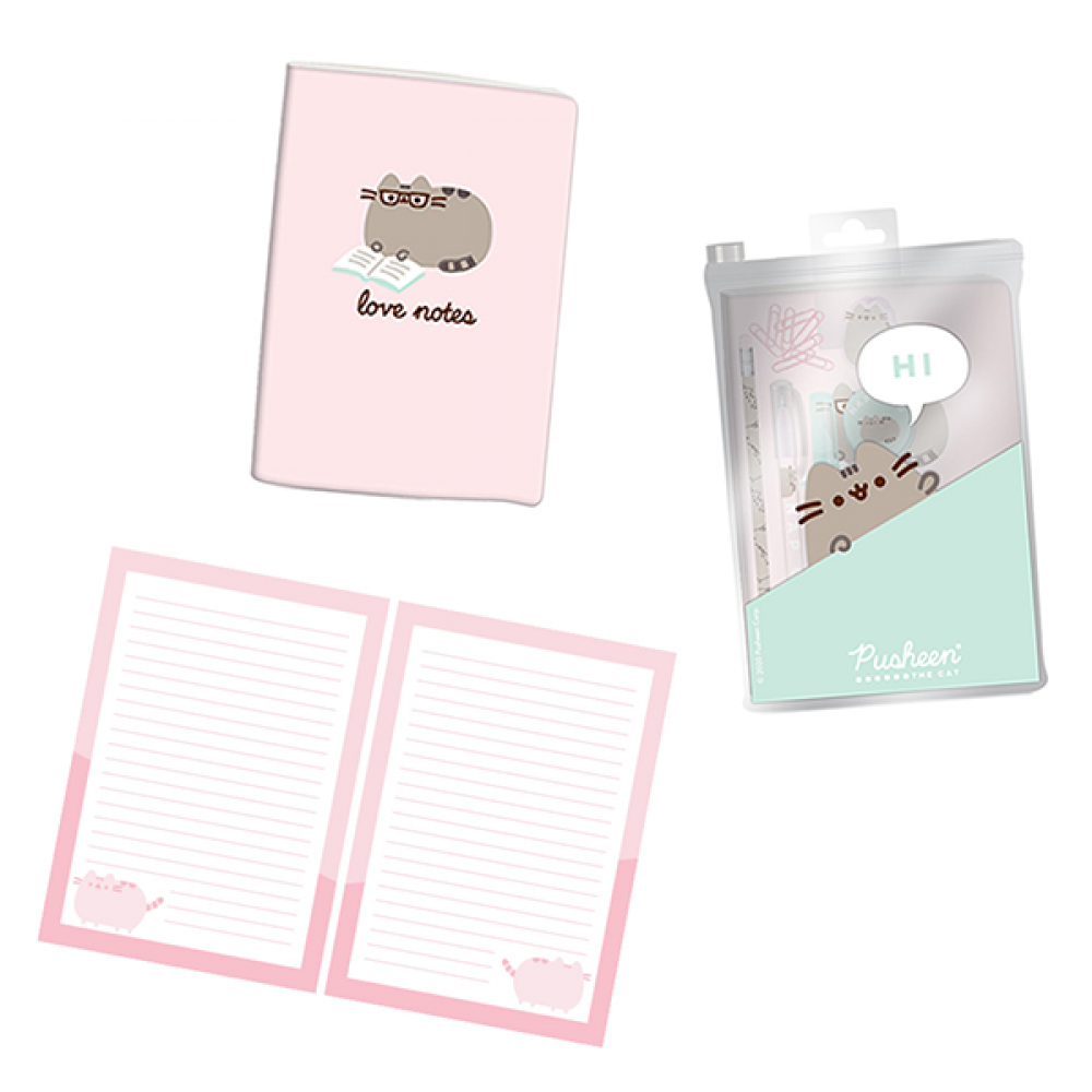 PUSHEEN SWEET DREAMS SUPER STATIONERY SET