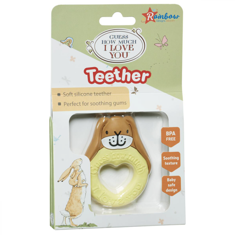 GUESS HOW MUCH I LOVE YOU TEETHER