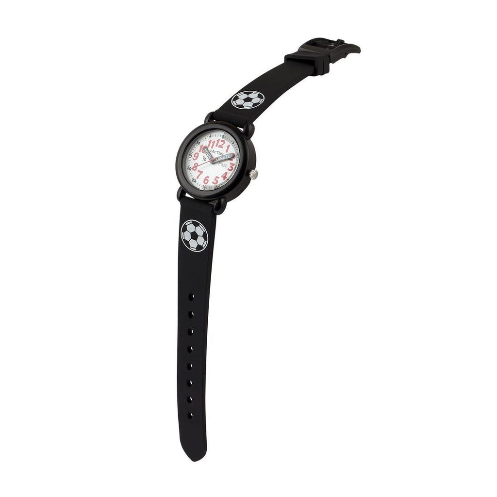 Timekeeper - Kids Watch - Black / Soccer ball