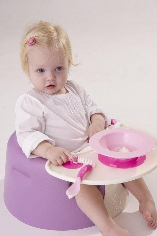 Ezee-Reach Stay-Put Cutlery Bowl - Pink Fairy