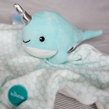 Bubble Comforter - Tusky the Narwhal