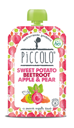 Piccolo Organic Sweet Potato, Beetroot, Apple & Pear (Stage 1 - 100g )