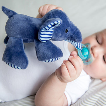 Bubble Pacifier Holder - Ryan the Elephant
