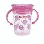 360° Wonder Cup with Twin Handle -Pink