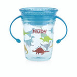 360° Wonder Cup with Twin Handle -Blue