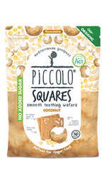 Piccolo Squares smooth teething wafers - Coconut ( - 50g )