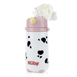 Dalmatian Stainless Steel Cup with Flip-it Straw (420ml) -Girl