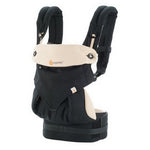 Ergobaby 360 Four Position Carrier - Black & Camel