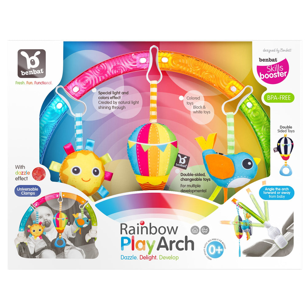 Dazzle Friends - Rainbow Play Arch