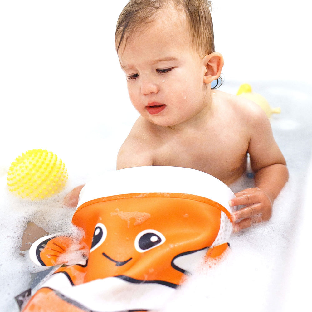 Baby Scoop & Store Bath Toy Organiser - Captain Nemo
