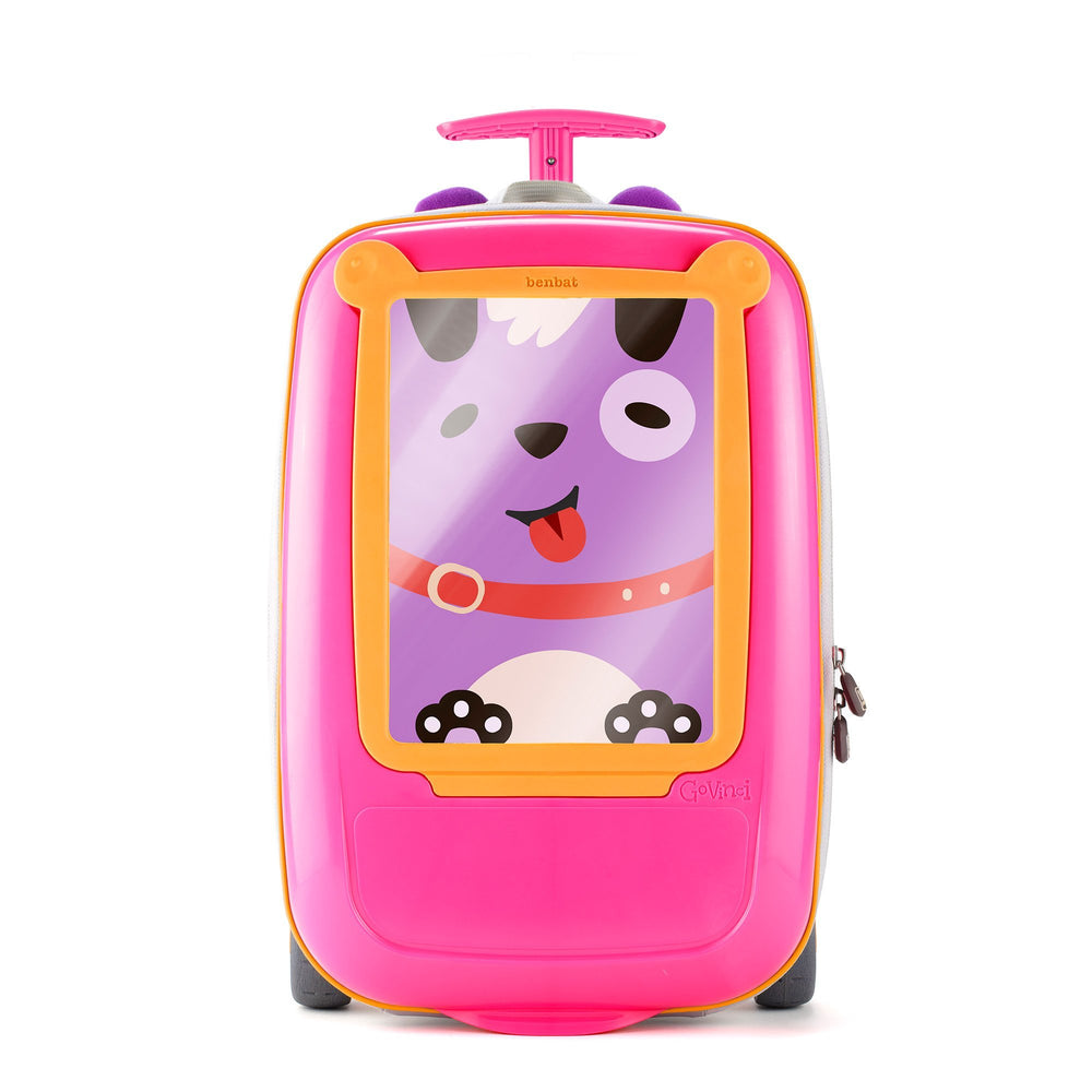 GoVinci Carry-On Luggage Pink