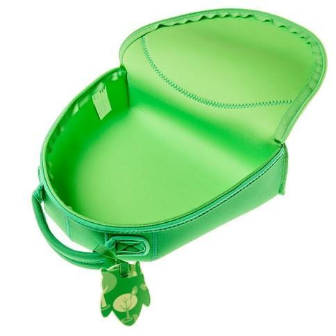 Bibetta - Green Owl Neoprene Lunch Bag