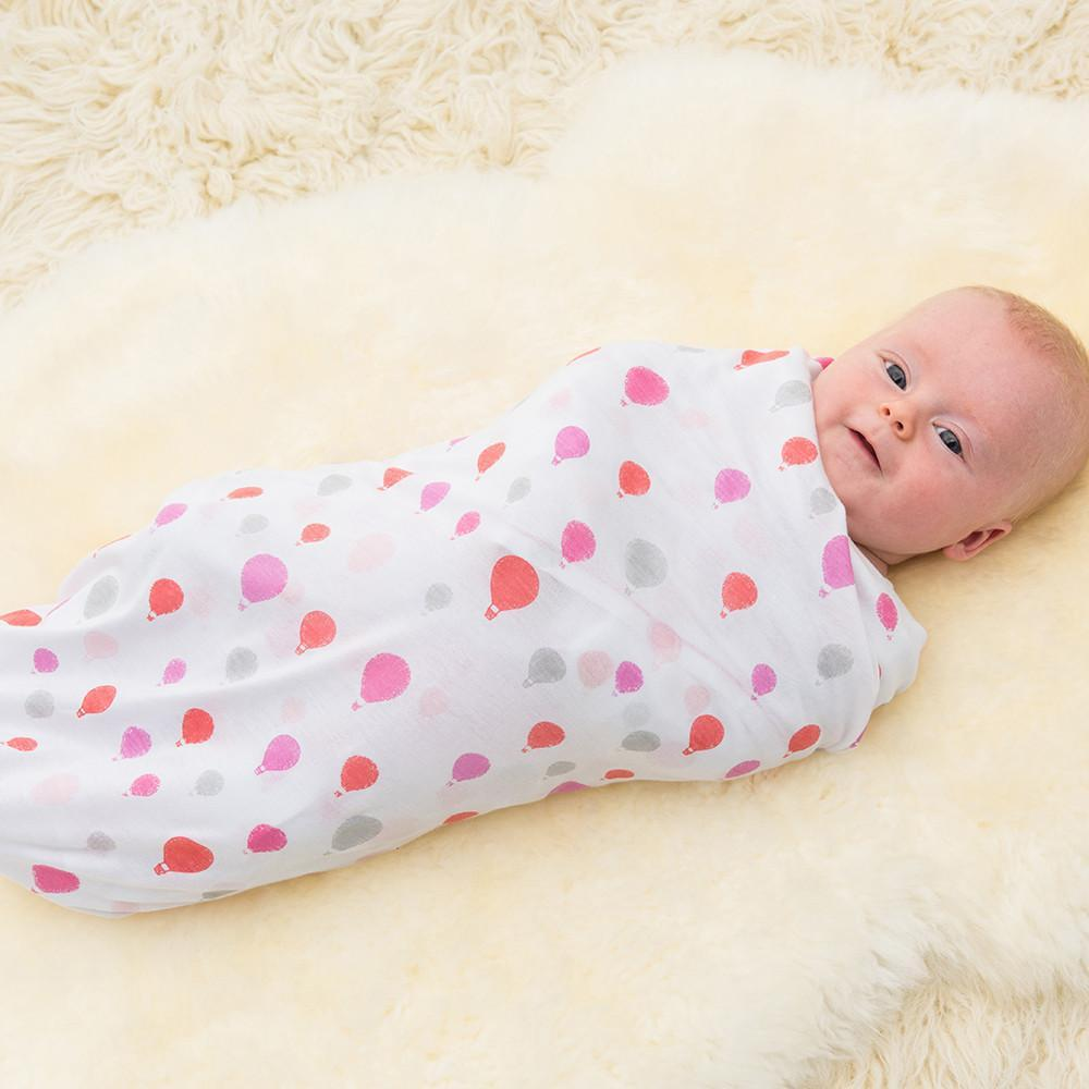 Bubble - Dreamtime Pinks Girls Bamboo Wraps