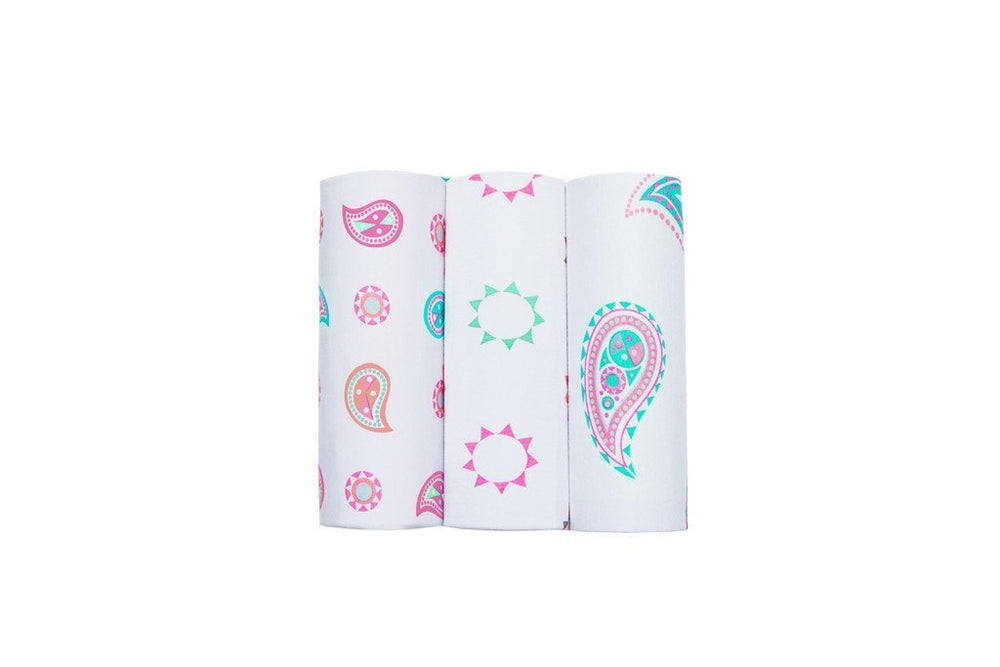 Bubble - Paisley Bamboo Wraps