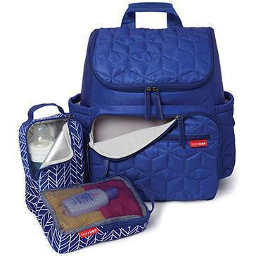 Forma Backpack Diaper Bag - Indigo