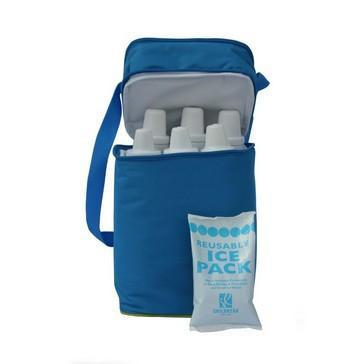 J.L. Childress - 6 Bottle Cooler - Blue/ Green