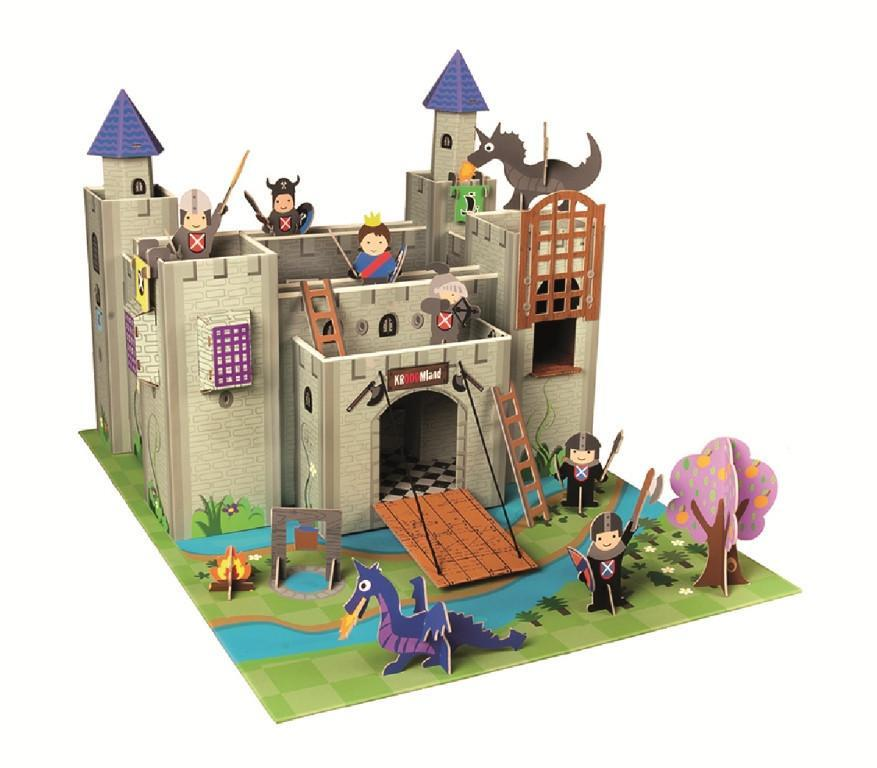 Krooom - Artur Knights Castle Playset