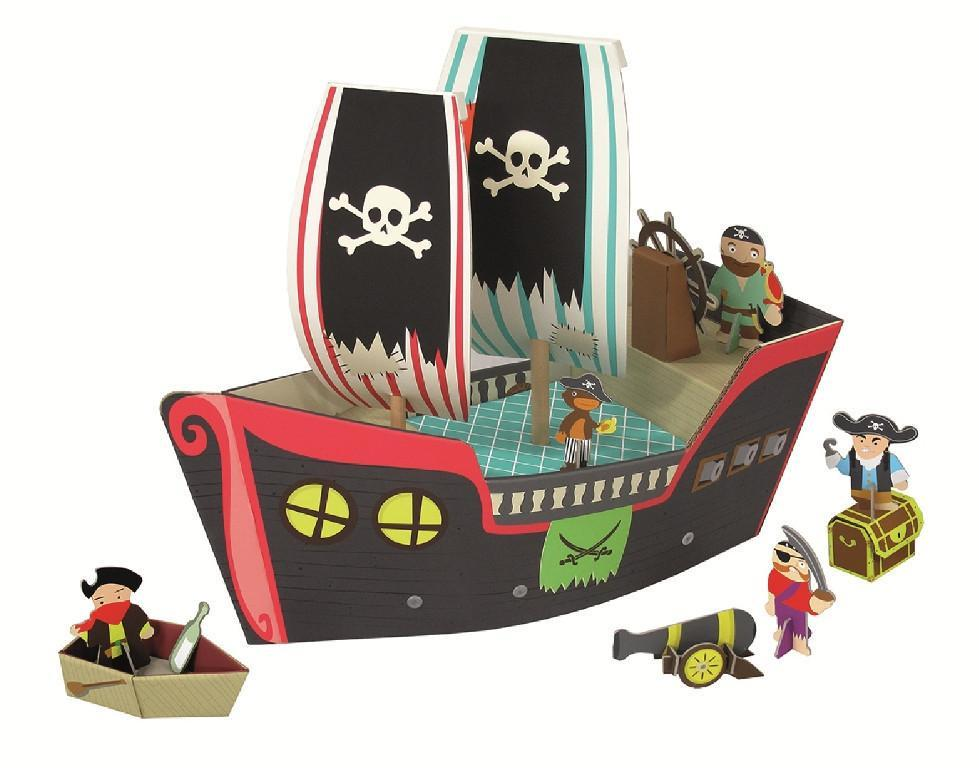Krooom Playset - Cooper Pirate Ship