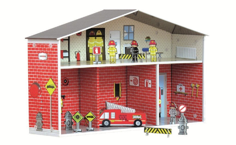 Krooom Playset - Dylan Fire Station