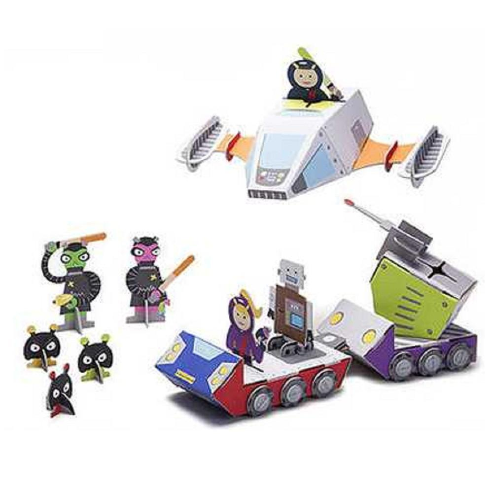 Krooom Playset - Galactic Police Space Mission