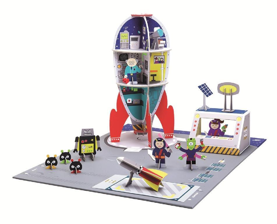 Krooom Playset - Galatic Police Space Station
