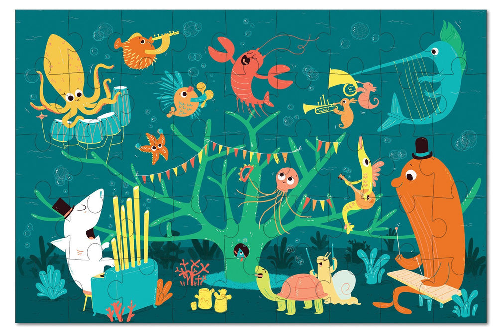 Krooom Jigsaw Puzzle - Sea Animals