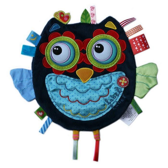 Label Label Friends Taggie Toy - Blue Owl