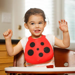 Make My Day Bib - Buggin' Out Ladybug