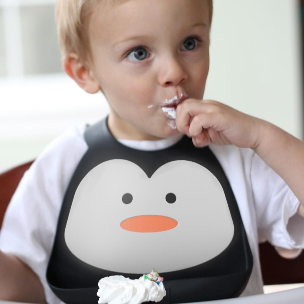 Make My Day Bib - Chill Out Penguin