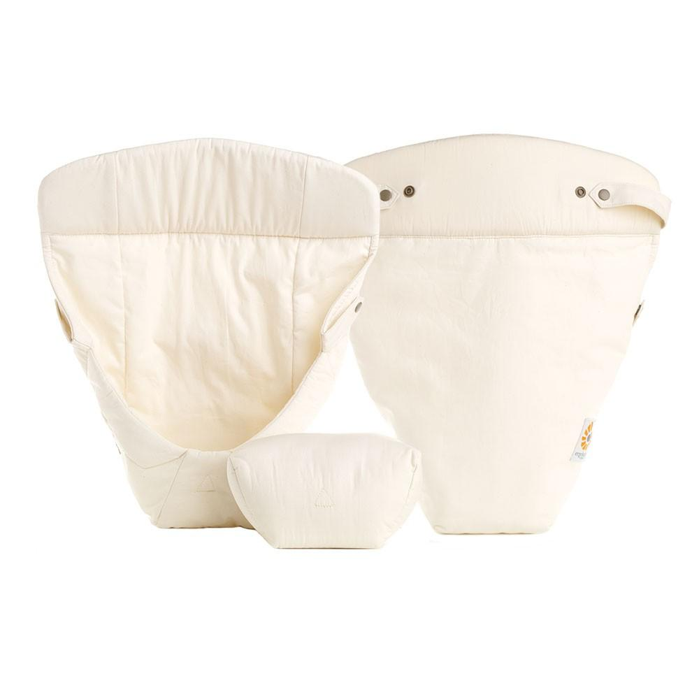 Ergobaby Easy Snug Infant Inserts - Organic Cotton Fabric - Natural