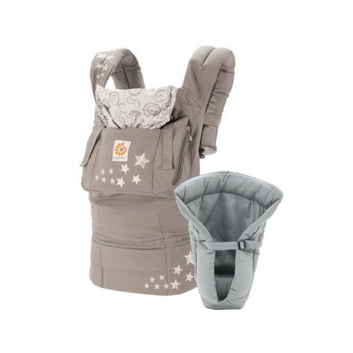 Ergobaby Original Collection: Bundle of Joy Galaxy Grey with Grey Infant Insert