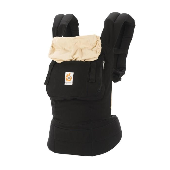 Ergobaby Baby Carrier - Original Black/Camel