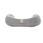 Ergobaby Natural Curve Nursing Pillow - Heathered Grey