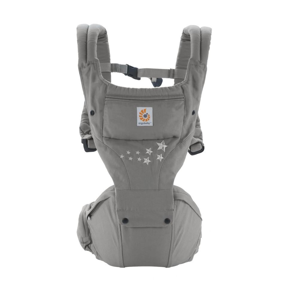 Ergobaby 6 Position Hipseat Carrier - Galaxy Grey